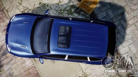Porsche Cayenne Magnum para GTA 4 vista de volta