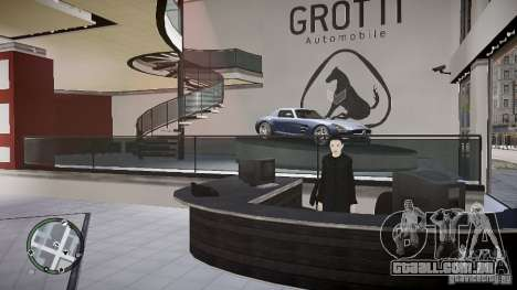 Car Shop Mod para GTA 4 segundo screenshot