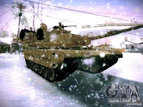 M1A2 Abrams de Battlefield 3 para GTA San Andreas