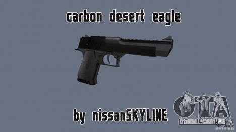 Carbon Desert Eagle para GTA San Andreas