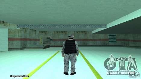 Army Soldier v2 para GTA San Andreas segunda tela