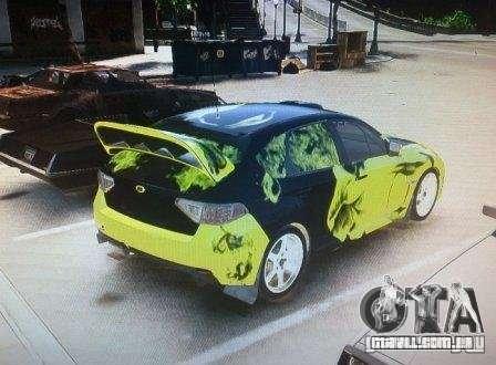 Subaru Impreza WRX para GTA 4 esquerda vista