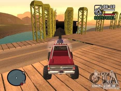 Monster tracks v1.0 para GTA San Andreas nono tela