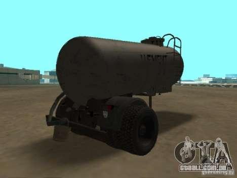 TTC 26 para GTA San Andreas traseira esquerda vista