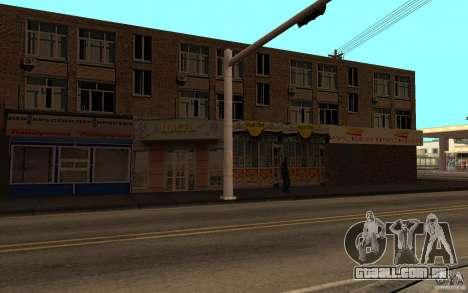 Casa russa em Idlvude para GTA San Andreas