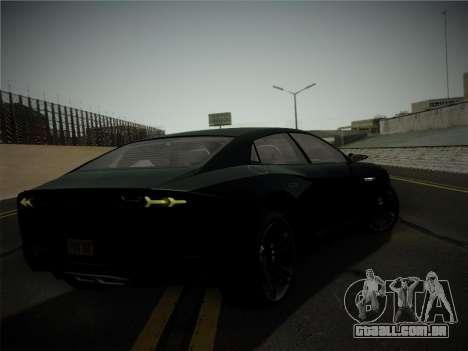 Lamborghini Estoque Concept 2008 para GTA San Andreas vista superior