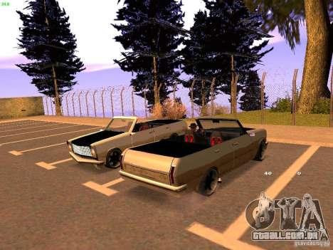 New Perennial para GTA San Andreas traseira esquerda vista
