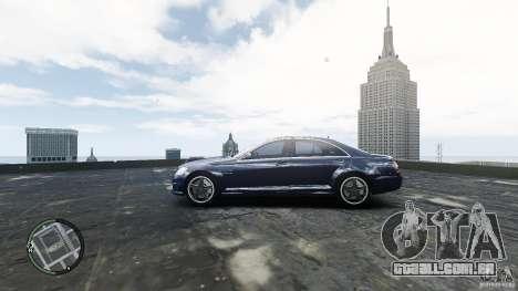 Mercedes-Benz S65 AMG para GTA 4 vista direita