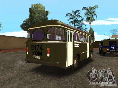 PAZ 672 v2 para GTA San Andreas traseira esquerda vista