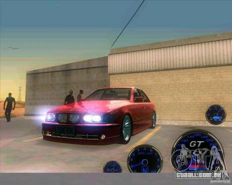 BMW E39 530d Sedan para GTA San Andreas