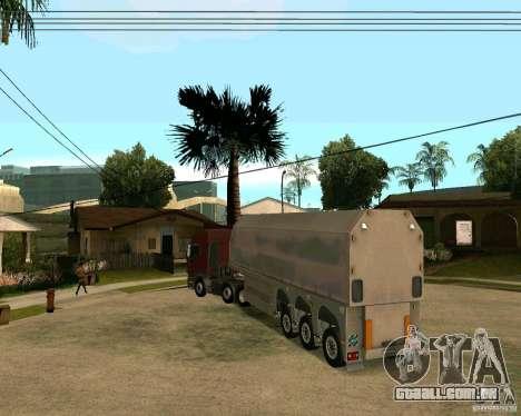 Reboque Steklovoz para GTA San Andreas
