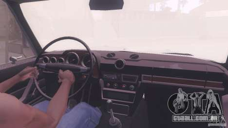 VAZ 2106 Tuning estilo Rat para vista lateral GTA San Andreas