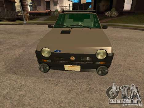 Fiat Ritmo para GTA San Andreas vista superior