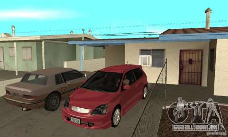 Honda Civic Type R - Stock + Airbags para GTA San Andreas