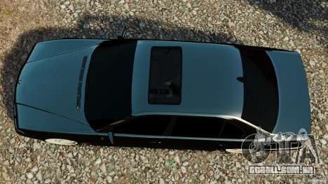 BMW 750iL E38 Light Tuning para GTA 4 vista direita