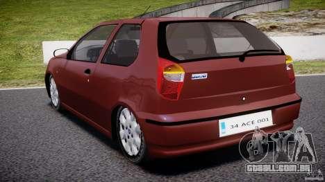 Fiat Palio 1.6 para GTA 4 traseira esquerda vista