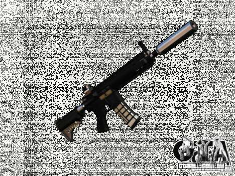 Weapon pack v2 para GTA San Andreas segunda tela