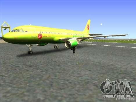 Airbus A-320 S7Airlines para GTA San Andreas