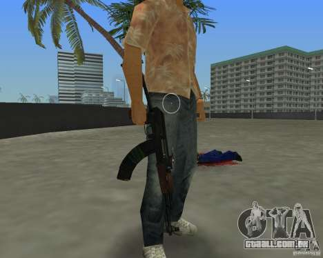 AKS-74 para GTA Vice City terceira tela
