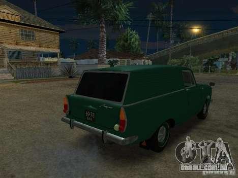 AZLK 434 para GTA San Andreas esquerda vista