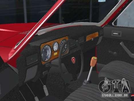 GAZ 24-12 v 2. para GTA San Andreas vista interior