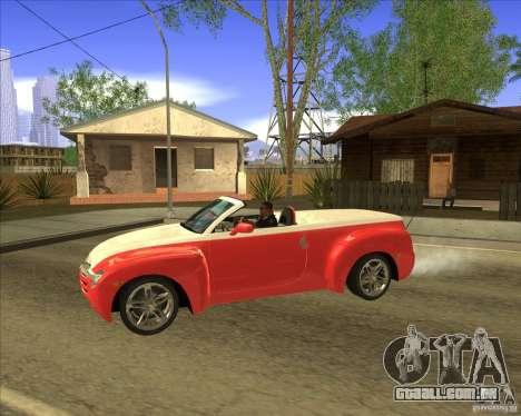 Chevrolet SSR para GTA San Andreas esquerda vista