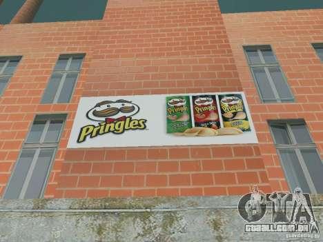 Pringles Factory para GTA San Andreas por diante tela
