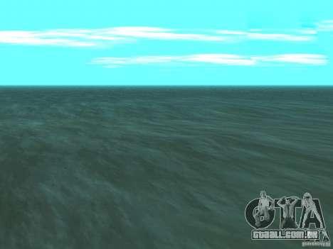 Água nova para GTA San Andreas terceira tela