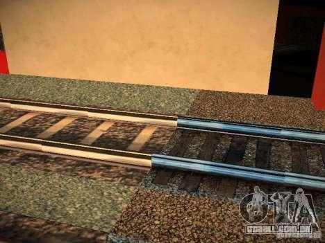 Novos trilhos para GTA San Andreas terceira tela