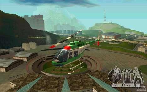 Bell 206 B Police texture3 para GTA San Andreas