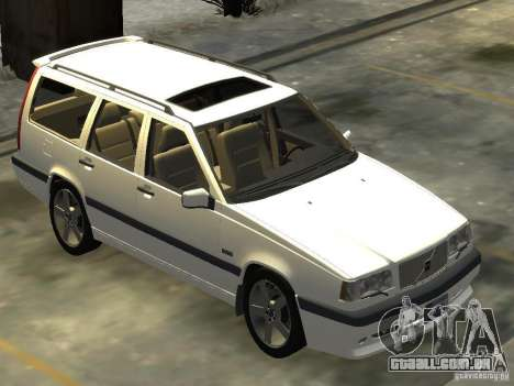 Volvo 850 R 1996 Rims 2 para GTA 4 vista direita