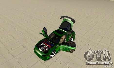 Mazda RX-7 ings para GTA San Andreas vista direita