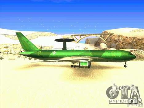 Boeing E-767 para GTA San Andreas vista direita