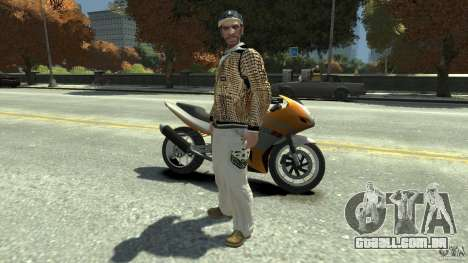 White clothes pack para GTA 4
