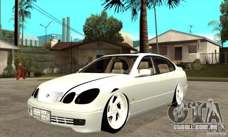 Lexus GS300 V 2003 para GTA San Andreas esquerda vista