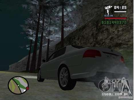 Winter Mod para GTA San Andreas segunda tela
