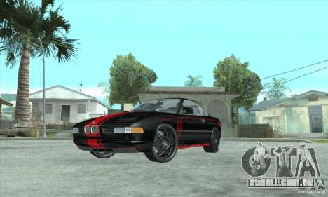 BMW 850i para vista lateral GTA San Andreas