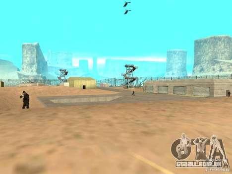 Animada área 69 para GTA San Andreas sétima tela