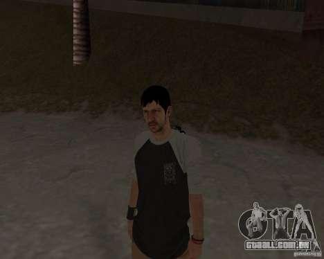 Tony Hawks Cole para GTA San Andreas por diante tela