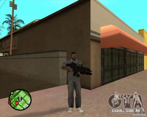 O Rifle de Ross para GTA San Andreas segunda tela
