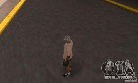 Adio hamilton para GTA San Andreas segunda tela