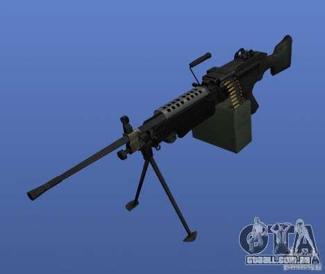M249SAW metralhadora para GTA 4