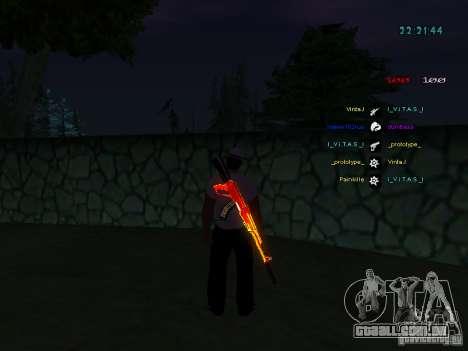 Novos skins La Coza Nostry para GTA: SA para GTA San Andreas por diante tela