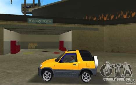 Toyota RAV4 L 1994 para GTA Vice City deixou vista