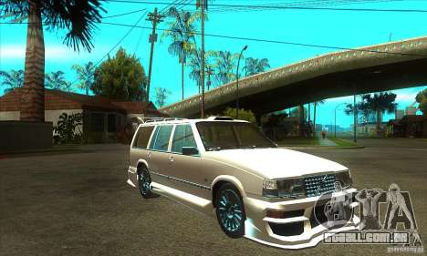 Volvo 945 Wentworth R with bodykit (1.2) para GTA San Andreas vista traseira