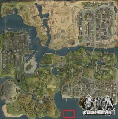 Tokyo Drift map para GTA San Andreas sexta tela