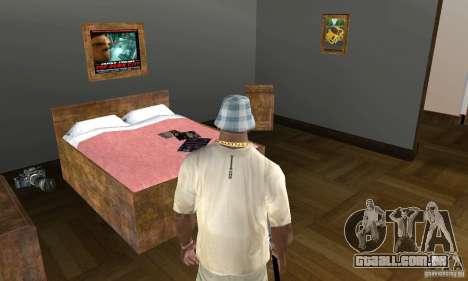Novos esconderijos interiores para GTA San Andreas sexta tela