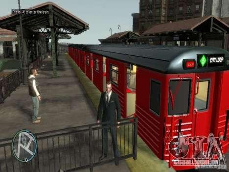 Redbird trem v 1.0 para GTA 4