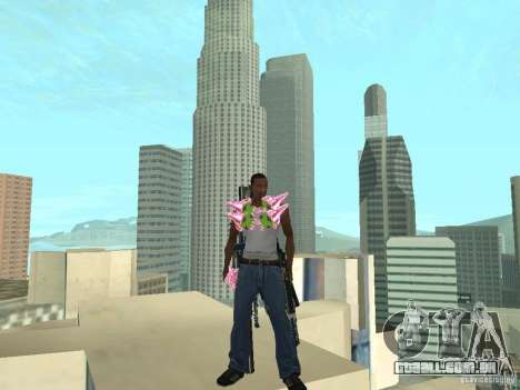 Weapons Pack para GTA San Andreas segunda tela