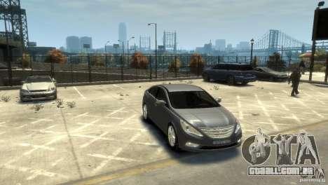 Hyundai Sonata para GTA 4 vista direita